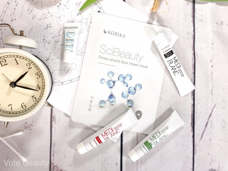 korika-sheetmask-bioderma-hydrabiocream-mediblanc-toothpaste