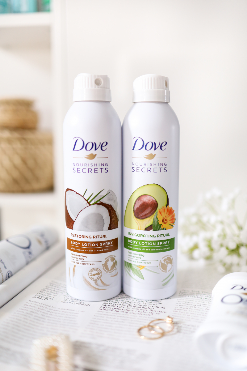 Body Care With Dove Products Vote Beauty